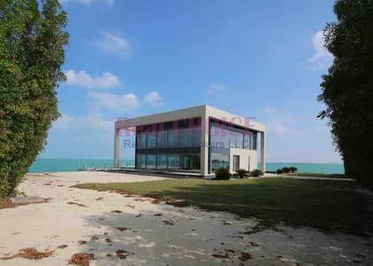 فیلا 4 غرفة نوم للبيع في جزيرة نوراي، أبوظبي - Corner Luxury 4BR Water Villa|Nurai Island