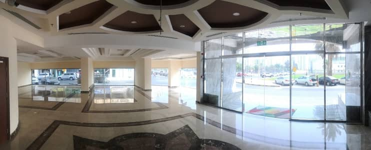 Floor for Rent in Al Mahatah, Sharjah - Commercial Space For Rent From Owner