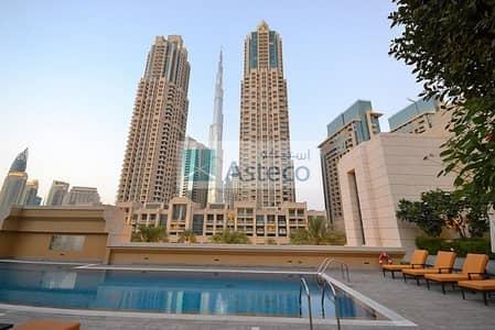 فلیٹ 1 غرفة نوم للبيع في وسط مدينة دبي، دبي - Rented One Bed||Superb view||Superb deal