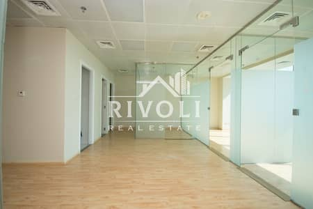 Office for Rent in Business Bay, Dubai - Partitioned Office for Rent in Bayswater