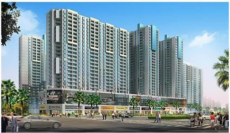 1 Bhk For Rent In City Towers 750 Sqft With Balcony 24000/- In 4cheques.