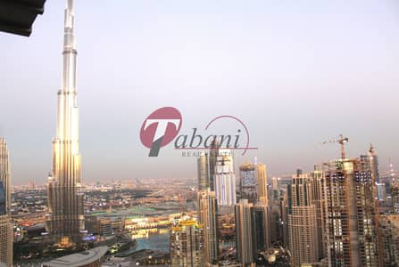 4 Bedroom Penthouse for Rent in Business Bay, Dubai - Rare & Stunning 4 Bedrooms Duplex Penthouse