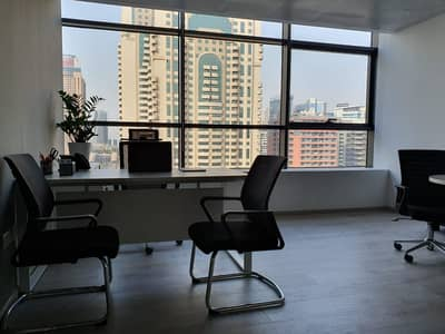 Office for Rent in The Greens, Dubai - Furnished Unite & Ejari Direct from the Landlor