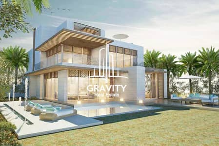 4 Bedroom Villa for Sale in Saadiyat Island, Abu Dhabi - Design your own home w/ full sea view in Nudra