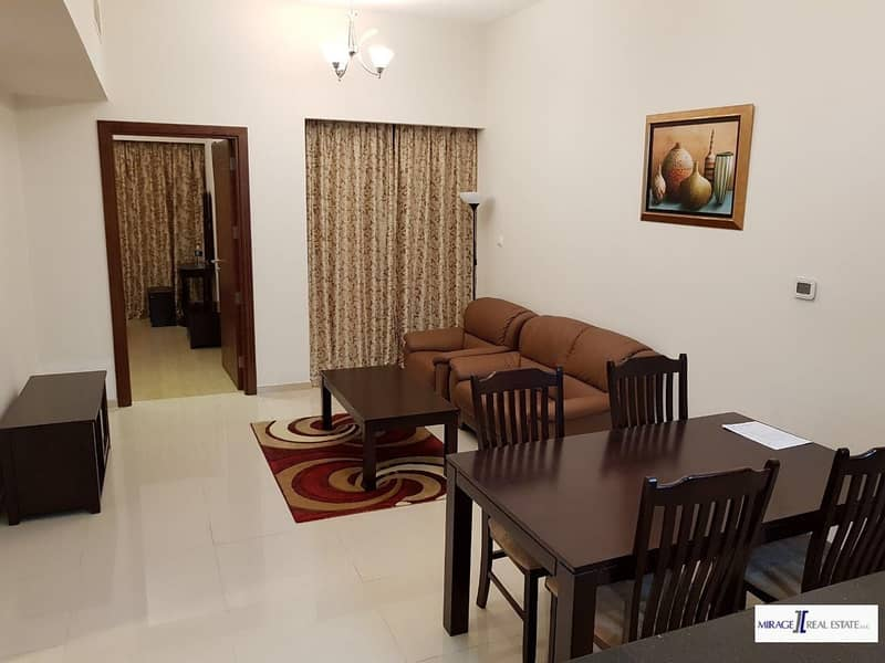 Furnished One Bed Room For Rent In Elite Residence 8 Dubai Sport City