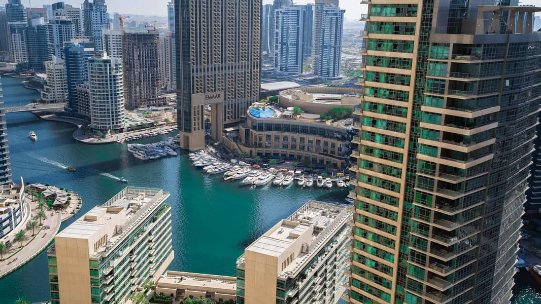 Gorgeous Two-Bedroom Apartment with Marina View