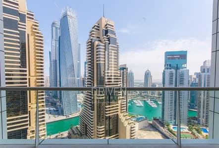 استوديو  للبيع في دبي مارينا، دبي -  Full Marina View