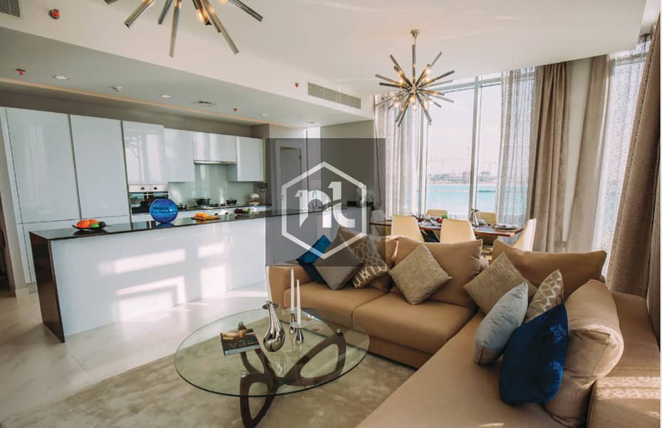 2 Furnished Charming Flat directly on the lagoon | D1