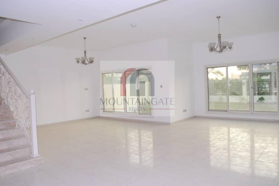 2 Large Garden 4 Bed +maid in Nakheel villa