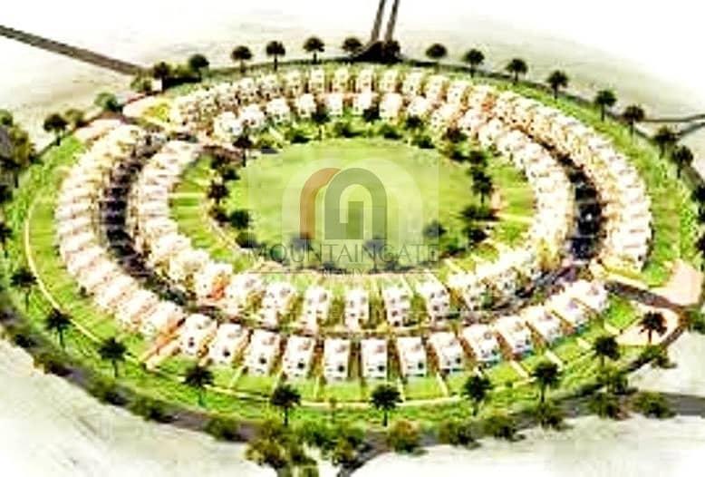 10 Large Garden 4 Bed +maid in Nakheel villa