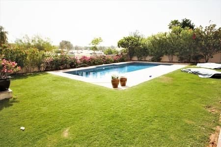 5 Bedroom Villa for Sale in Dubai Sports City, Dubai - Beautiful golf views close to main exit