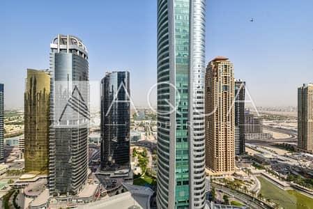 2 Bedroom Flat for Sale in Jumeirah Lake Towers (JLT), Dubai - Luxurious Upgraded High Floor Lake Views