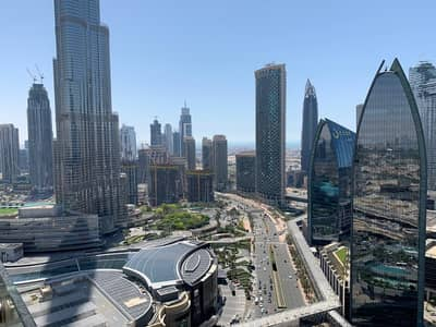 Full Burj Khalifa View|High Floor|Furnished