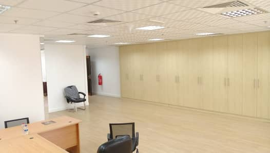 Office for Rent in Dubai Silicon Oasis, Dubai - Large Size Fully Fitted Office in Silicon oasis