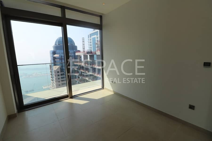 Sea and Marina Views | Unfurnished | New |