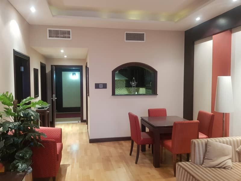 2 Fully Furnished Amazing Offer Spacious VVIP 1 BHK Per month 5