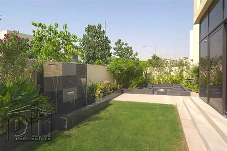 5 Bedroom Villa for Rent in DAMAC Hills (Akoya by DAMAC), Dubai - Beautifully Decorated 5 BR | Garden Waterfall