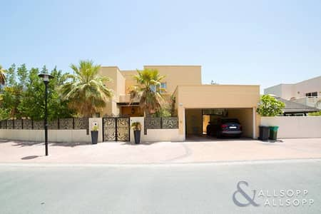 5 Bedroom Villa for Sale in The Meadows, Dubai - Upgraded | Type 8 | Large Plot | 5 Beds