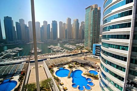 2 Bedroom Flat for Sale in Dubai Marina, Dubai - Vacant on Transfer|Partial Marina Viewl2BR