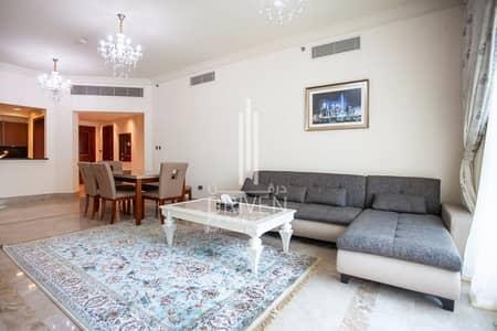 فلیٹ 2 غرفة نوم للبيع في نخلة جميرا، دبي - Fully Furnished 2 Bed plus Maids room Apt