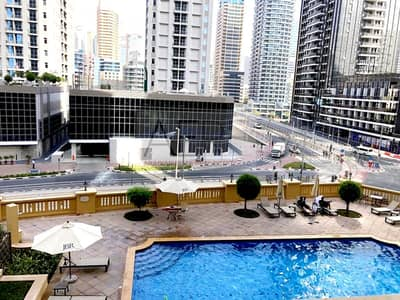 1 Bedroom Apartment for Rent in Jumeirah Beach Residence (JBR), Dubai - Sign A Lease Today | Spacious One Bed w/ Pool View