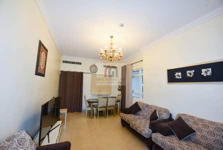 شقة 2 غرفة نوم للايجار في دائرة قرية جميرا JVC، دبي - Furnished 2 BR With Panoramic City View.