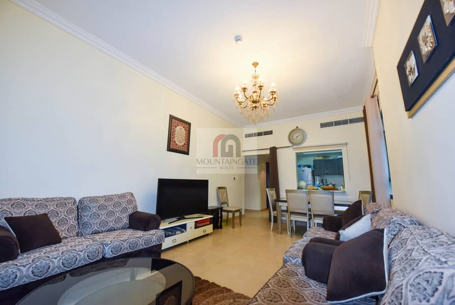 Furnished 2 BR With Panoramic City View.