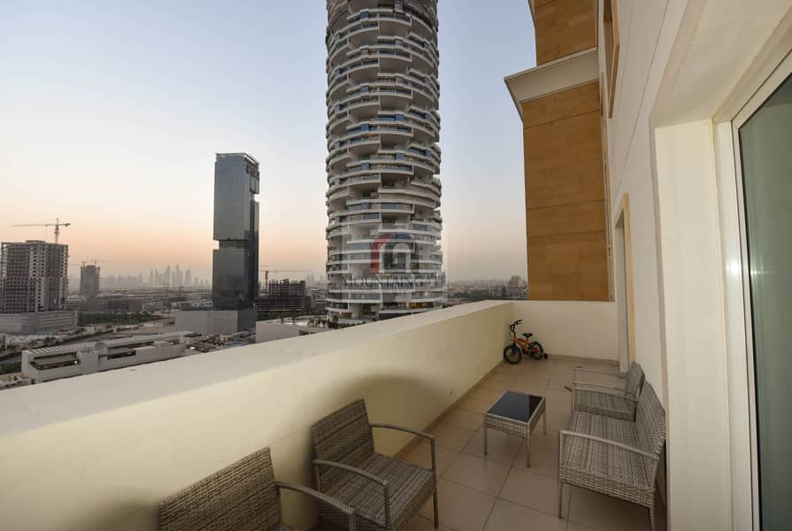 31 Furnished 2 BR With Panoramic City View.