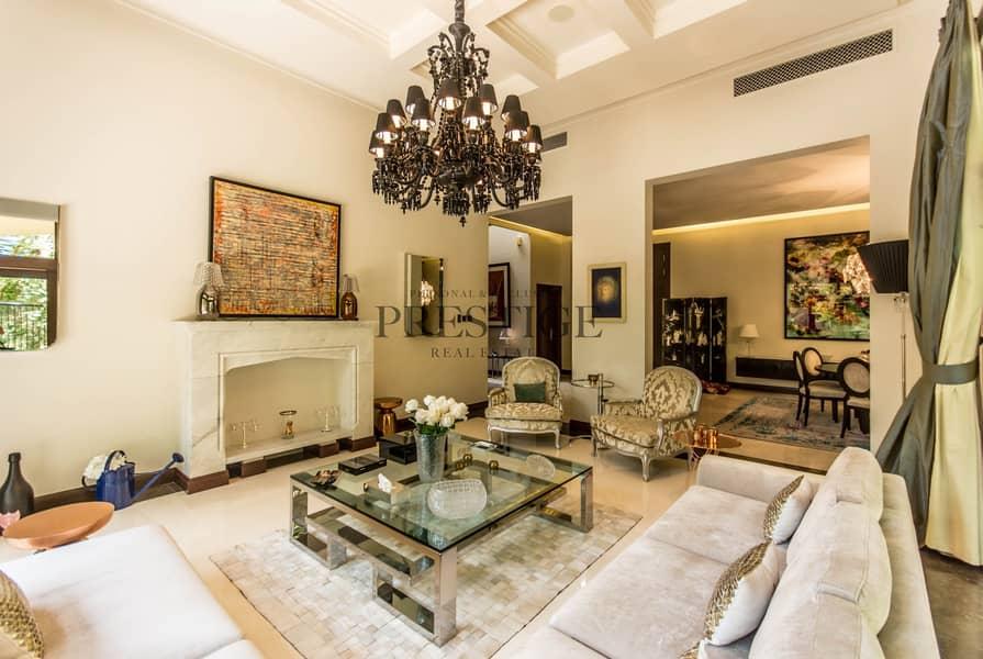 6 Bedrooms Villa | Al Barari | D type | Pond View