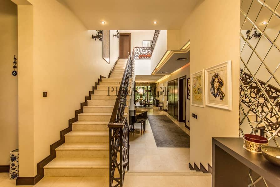 2 6 Bedrooms Villa | Al Barari | D type | Pond View