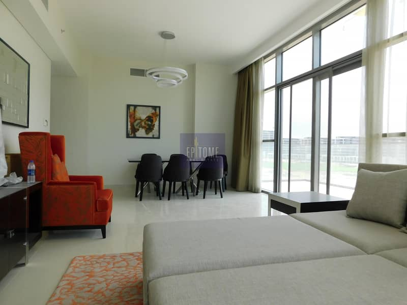 2 Furnished 2 BR + Maid With Golf View