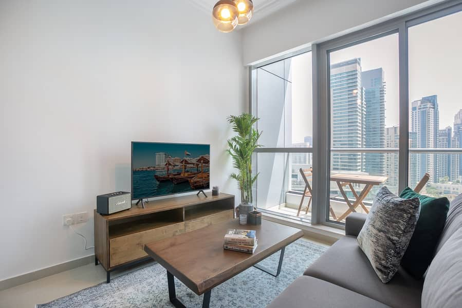 2 Marina View | Furnished | Chller  Free