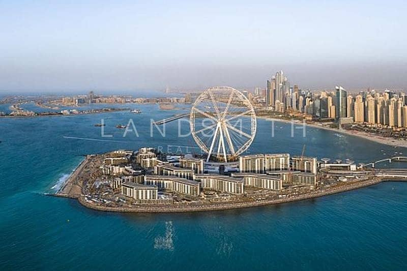 10 Brand New I Stunning views I 2BR Apt in Bluewaters