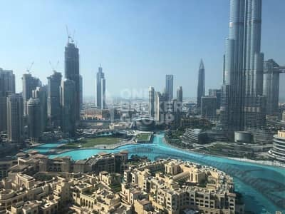 1 Bedroom Apartment for Sale in Downtown Dubai, Dubai - Exclusive! Full Fountain and Burj View High Floor