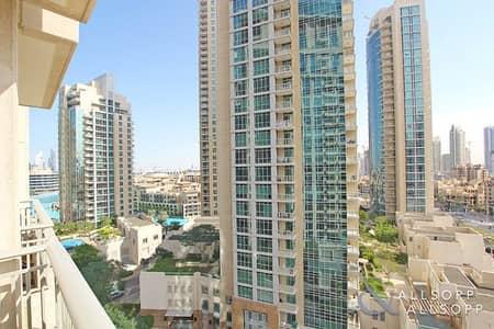 شقة 2 غرفة نوم للبيع في وسط مدينة دبي، دبي - Two Bedroom | Mid Floor | BLVD Views