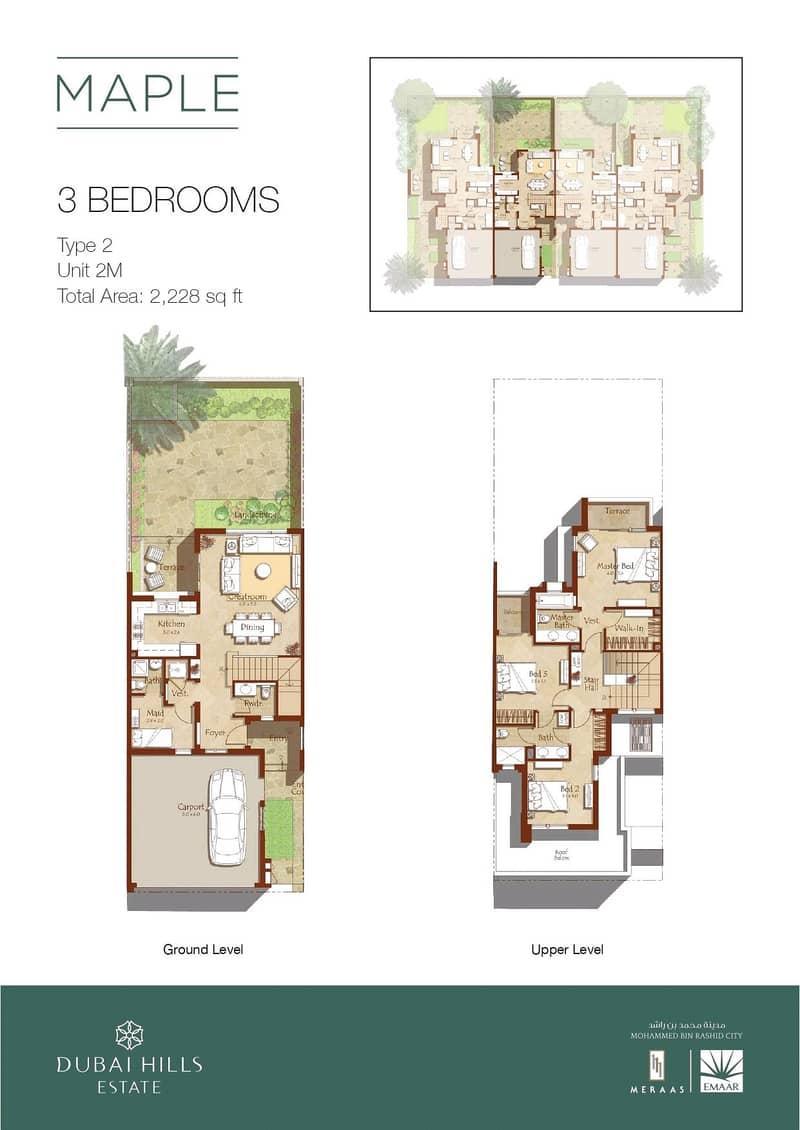 10 Single Row   Prime Location   3 Bed Maple