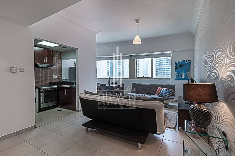 2 Bright and Fully Furnished with Lake View