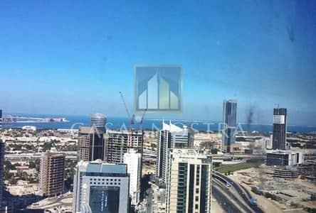 Office for Rent in Barsha Heights (Tecom), Dubai - Full Sea View Vacant Office on Higher Floor