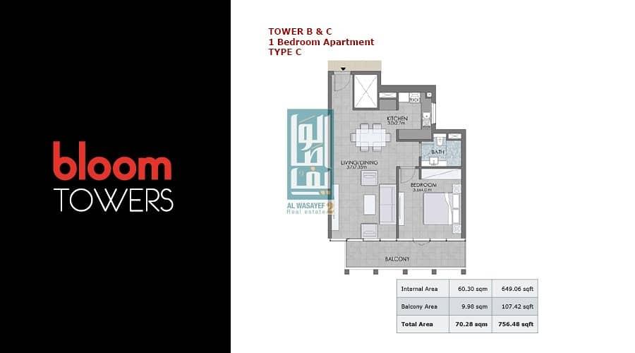 2  1 Bedroom