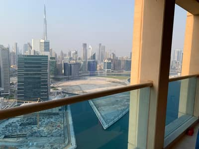 2 Bedroom Apartment for Rent in Business Bay, Dubai - Panoramic View # 2 bedrooms plus Maids room For Rent | Churchill Tower Residence