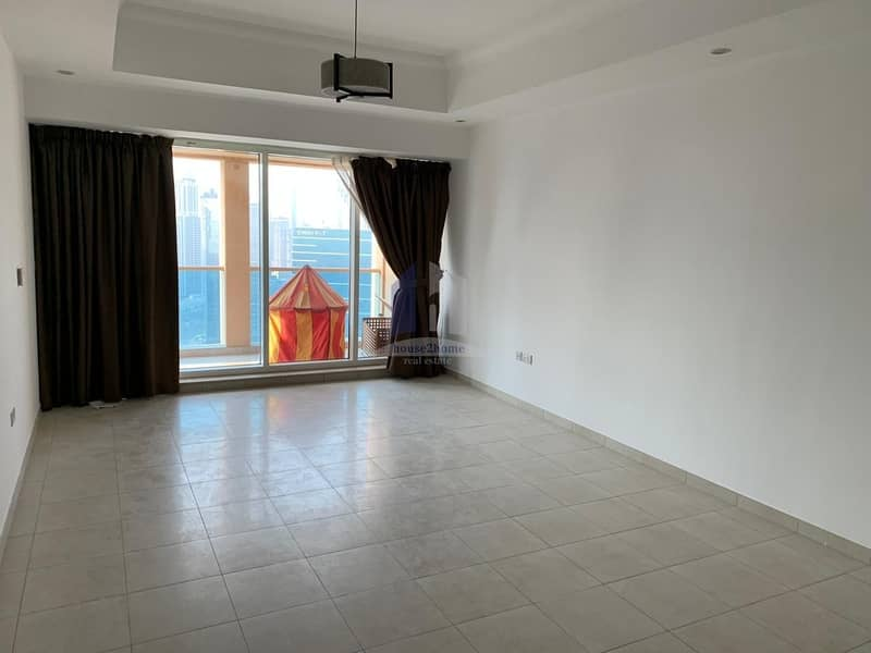 Panoramic View # 2 bedrooms plus Maids room For Rent | Churchill Tower Residence