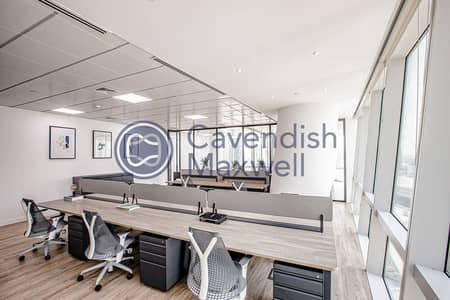 Office for Rent in Business Bay, Dubai - Fully Furnished I Corner Unit I Ubora Tower