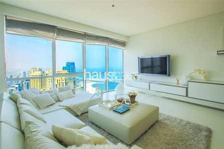 فلیٹ 2 غرفة نوم للبيع في مساكن شاطئ جميرا (JBR)، دبي - Fully Upgraded and Furnished | 2 Bed | Al Fattan