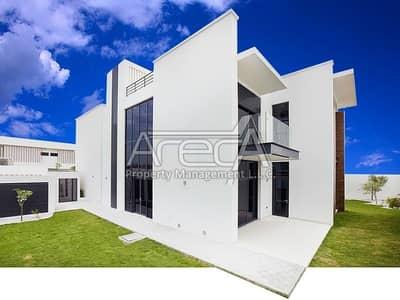 فیلا 5 غرفة نوم للبيع في جزيرة ياس، أبوظبي - Brand New Large 5 Bedroom Stylish Villa for Sale in West Yas!!