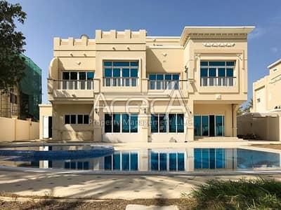 4 Bedroom Villa for Rent in Marina Village, Abu Dhabi - Mesmerizing Luxurious 4 Master Bed Royal Marina Villa