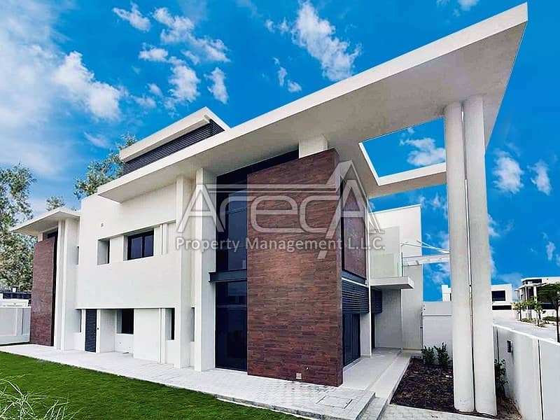 Invest Today for an Elegant & Spacious Brand New 5 Bed Villa in West Yas.
