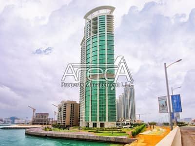 شقة 2 غرفة نوم للبيع في جزيرة الريم، أبوظبي - Hot Deal! Own a Stunning Sea Front High Floor 2 Bed Apt! Rak Tower