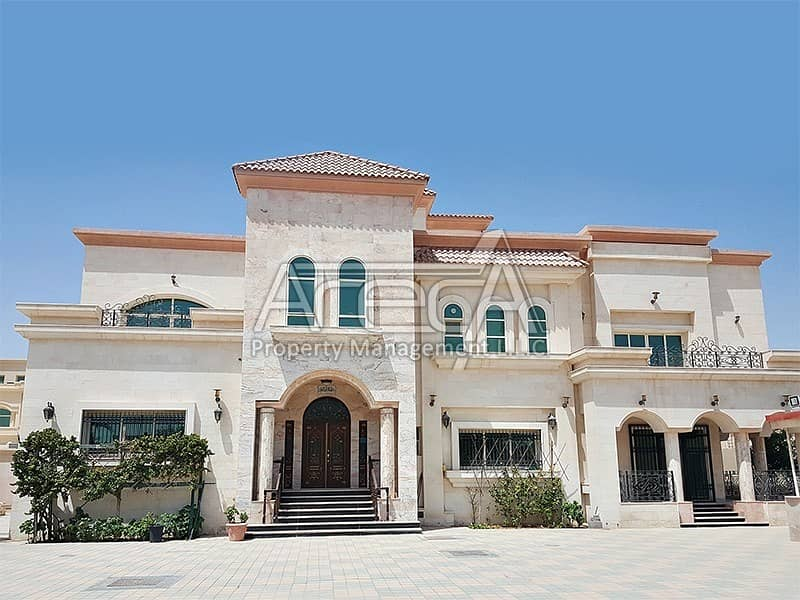 1 Spacious and Luxury 10 Bed Villa in Shakhbout City (Khalifa City B)