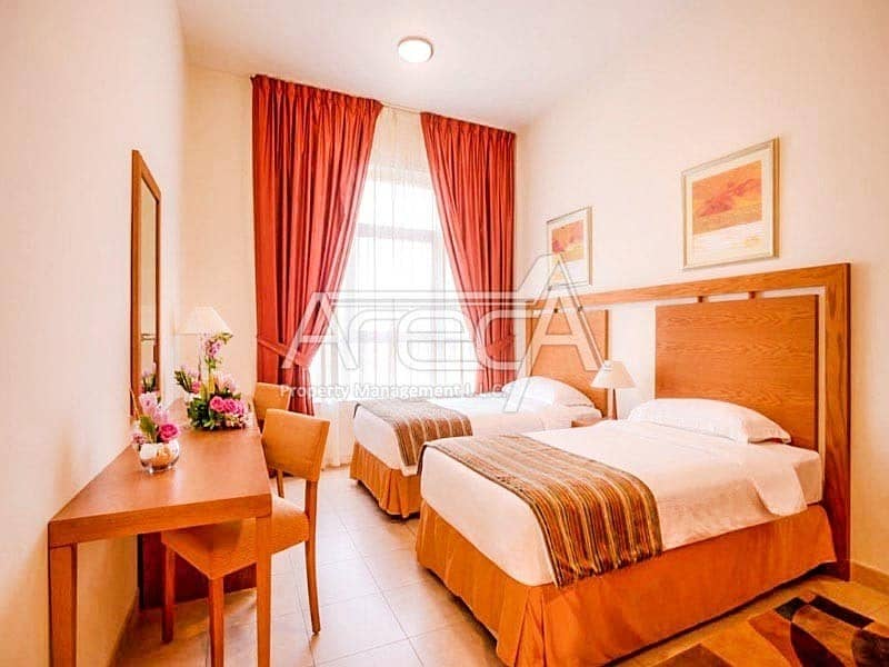 2 Great Offer! Fully Furnished 2 Bed Apt with Facilities! City Center Najda Street