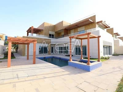 فیلا 6 غرفة نوم للبيع في مارينا، أبوظبي - Luxury at Best! Brand New 6BR Family Villa with Pvt Garden and Pool for Sale